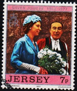 Jersey. 1977 7p S.G.169 Fine Used