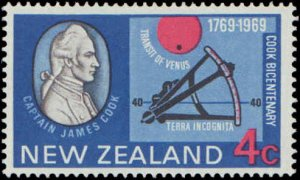 1969 New Zealand #431-434, Complete Set(4), Hinged