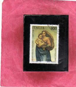 ITALIA REPUBBLICA ITALY REPUBLIC 1983 NATALE CHRISTMAS NOEL WEIHNACHTEN NAVID...