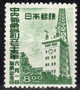 Japan #459 F-VF Unused  CV $4.50 (X1164)