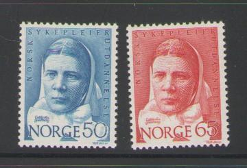 Norway Sc 519-20 1968 Nursing stamps mint NH