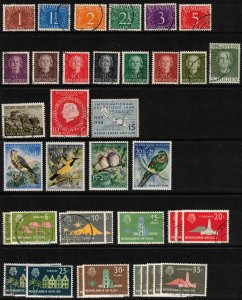 Netherlands Antilles - small collection of approx 90 different stamps