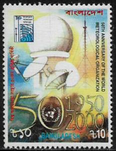 Bangladesh #606 MNH Stamp - Meteorological Organization