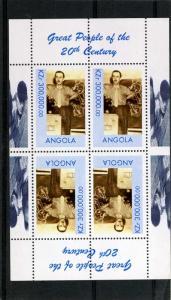 Angola 1999 MILLENNIUM Walt Disney Sheet Inverted Perforated Mint (NH)