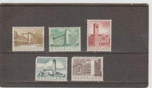 Netherlands  Scott#  B276-B280  MH  (1955 Social Purposes)