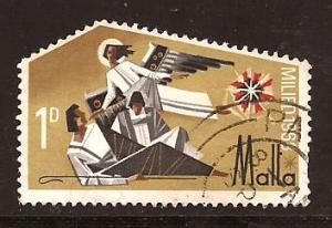 Malta  #  391  used .