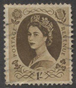 STAMP STATION PERTH GB #306 QEII Definitive  Used 1952-54