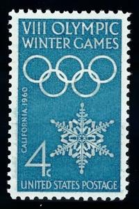 [63044] United States 1960 Olympic Games Squaw Valley  MNH