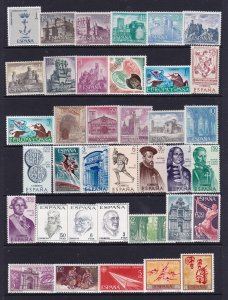 Spain a mint collection from about 1967