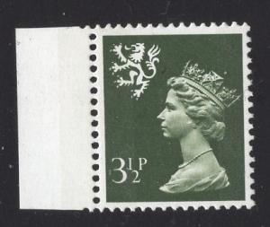 Great Britain Scotland  #SMH3  3 1/2p   MNH Q E II   Machin