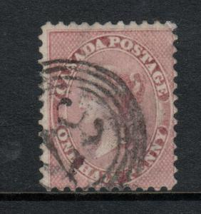 Canada #11 Used Fine With 4 Ring 27 Cancel