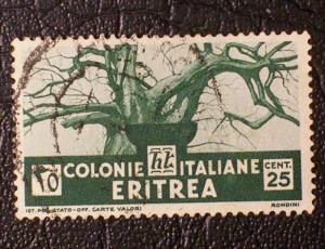 Eritrea Scott #162 used