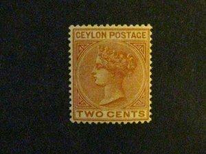 Ceylon #85 mint hinged  c203 97