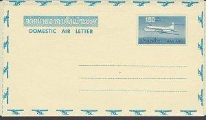 THAILAND 1.50 baht plane aerogramme unused..................................L437