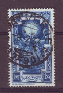 J303 jls stamp 1933 italy used 1.25l cross doves 4.75 scv