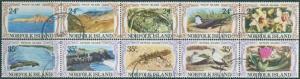 Norfolk Island 1982 SG274-283 Philip and Nepean Island FU