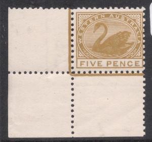 Western Australia SG 143 LL Corner Copy MNH (7dlt)