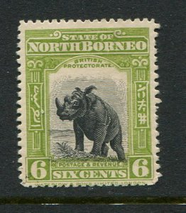 North Borneo #172 Mint