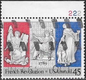 US C120 Used - French Revolution Bicent. - Liberty, Equality & Fraternity