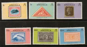 ANGUILLA SG358/63 1979 ROWLAND HILL  MNH