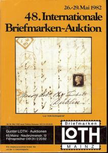 48. Loth-Briefmarken-Auktion: Internationale Briefmarkena...