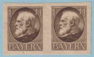 GERMAN STATES - BAVARIA 109 PROOF PAIR - MINT HINGED OG * NO FAULTS EXTRA FINE!