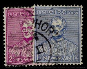 IRELAND QEII SG160-161, complete set, FINE USED.
