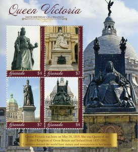Grenada 2019 MNH Queen Victoria 200th Birthday 4v M/S II Royalty Stamps
