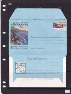 Christmas Island 70c Aerogramme Christmas Unused VGC
