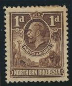 Northern Rhodesia  SG 2 SC# 2 Mint  hinged - see details