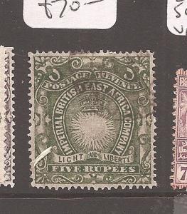 BRITISH EAST AFRICA (0707b) SG19  VFU