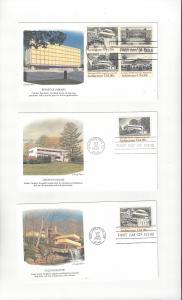 US American Architecture 2019-22  Fleetwood FDC 5 Covers