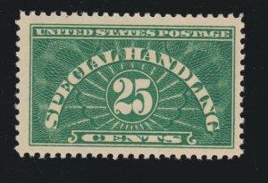 US QE4 Var 25c Special Handling Mint AT & TA Joined VF-XF OG NH SCV $210