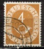 Germany; 1951: Sc. # 671: O/Used Single Stamp