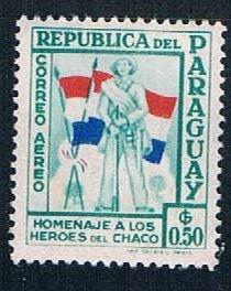 Paraguay Soldier 50 - pickastamp (PP9R503)