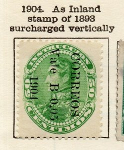 Venezuela 1904 Early Issue Fine Mint Hinged 05c. Surcharged Optd NW-114537