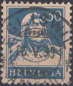 1932  30C. Tell (corrugated paper)