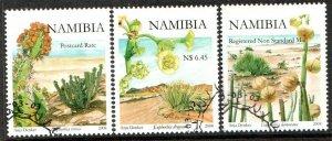 2008   NAMIBIA  -  SG: 1096/98  -  EUPHORBIAS  -  USED