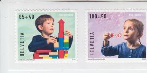 2018 Switzerland Happy Childhood SA Pro Juventute (2) (Scott B797-98) MNH