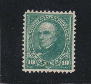 US 273 10c Webster Mint VF OG LH SCV $95