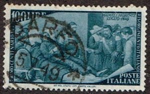 Italy # 506 Used