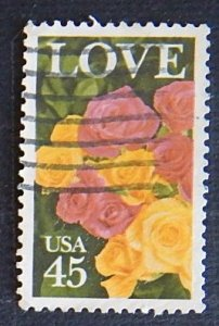 USA, Flowers, (№1554-Т)