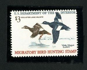 US Stamps # RW36 XF OG NH