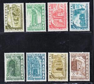 Paraguay Scott #C225-232 MH