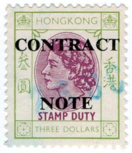 (I.B) Hong Kong Revenue : Contract Note $3