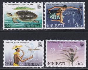 Kiribati MNH 448-51 Legends Culture