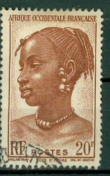 French West Africa - Scott 53