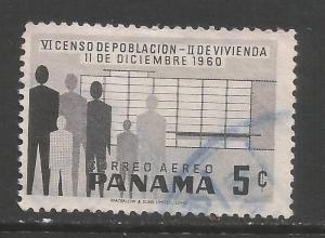 PANAMA C238 VFU Z4381-2