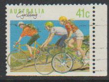 Australia SG 1180a  FU - from booklet bottom right  imper...