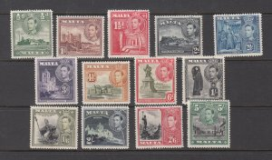 MALTA SC# 192-204 MH - SALE TO A USA ADDRESS ONLY